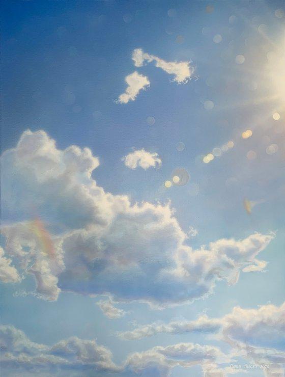 Drifting Clouds (86 x 114cm)