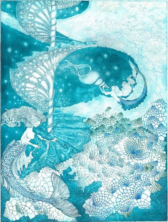 Celestial Sea Spirals