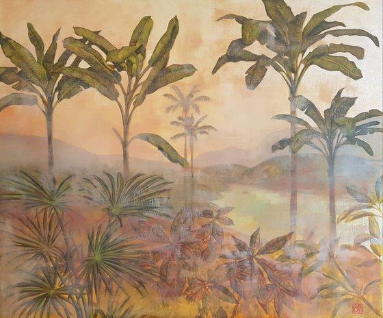 Banana Palms Scenery