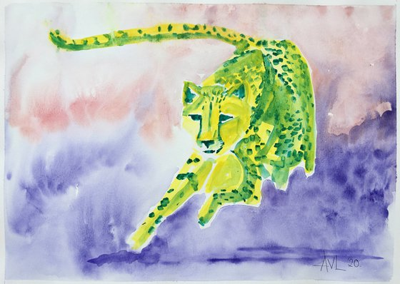 Cosmic cheetah