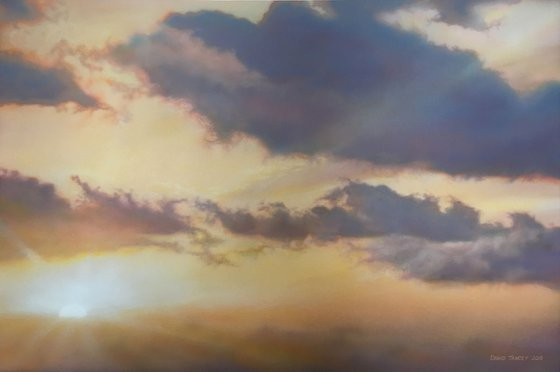 To Pause With The Sun (117.5 x 83cm)