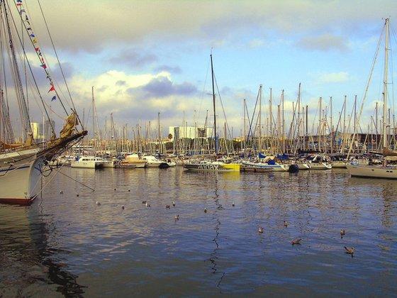 Barcelona yacht