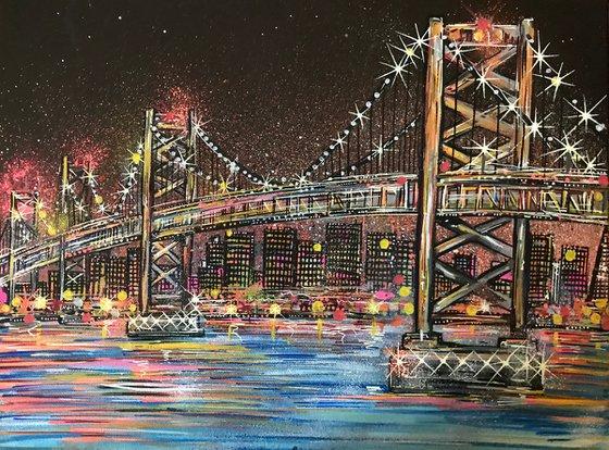 Oakland Bay Bridge - San Francisco - Canvas