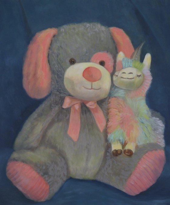 Bear Dog and Alpacacorn