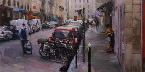 Street in paris 12