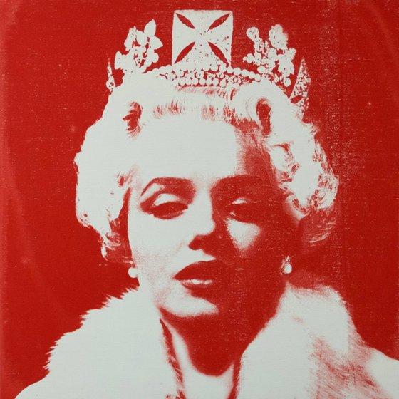 Red Velvet Marilyn Monroe