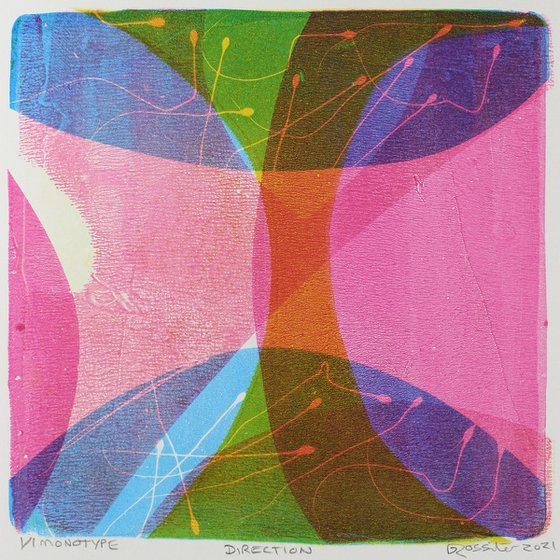 Direction - Unmounted Signed Monotype