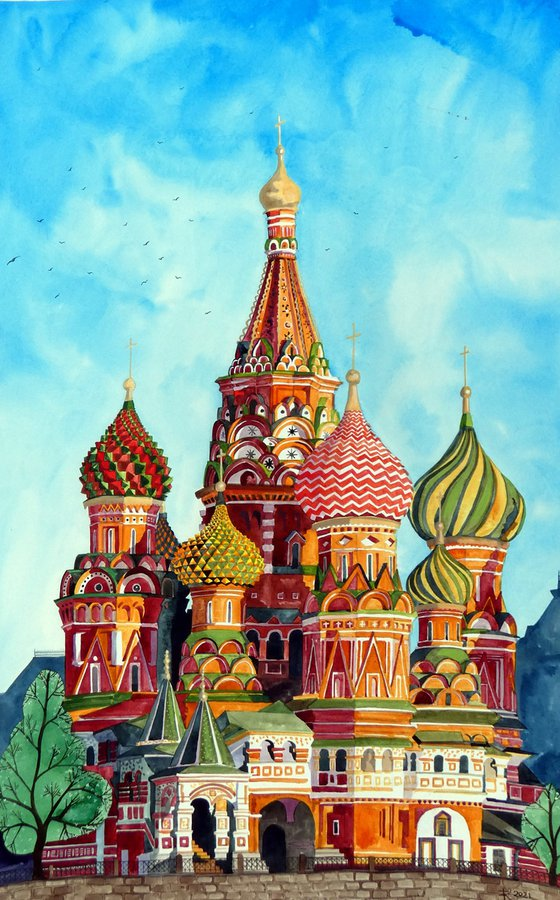 St Basil's Cathedral, Moscow - BIG