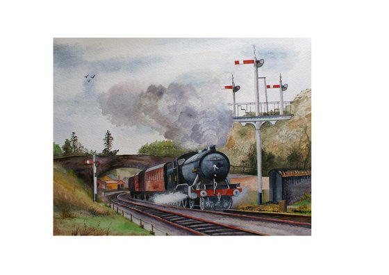 Great Marquess leaving Goathland