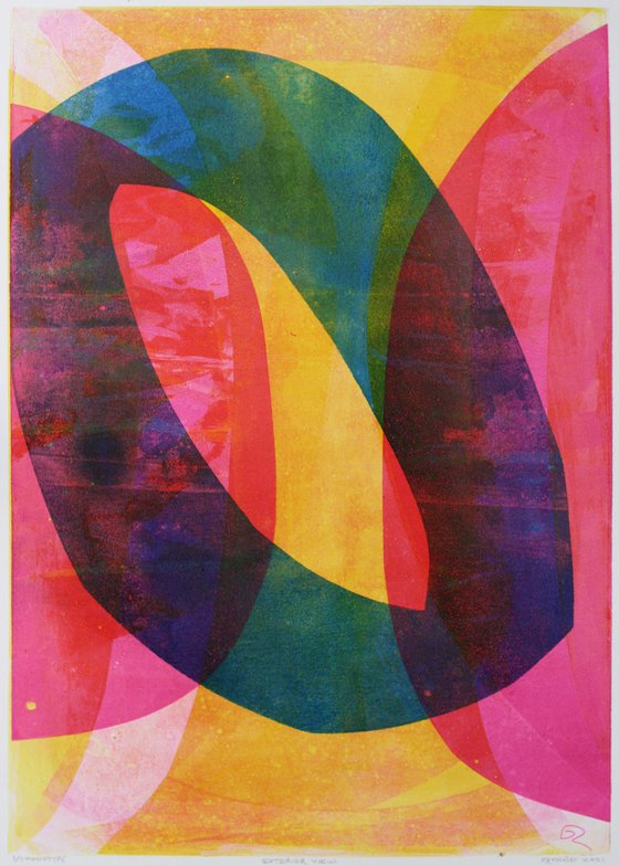 Exterior View - Unmounted Signed Monotype