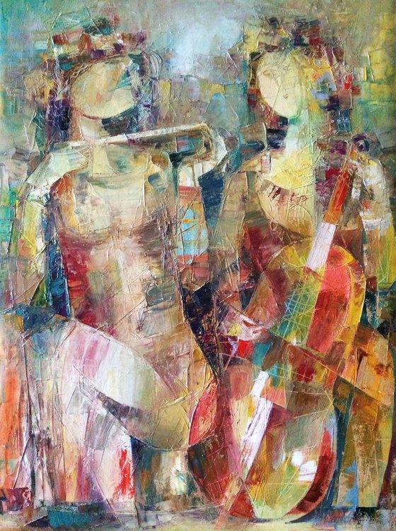 Duet (60x80cm oil/canvas)