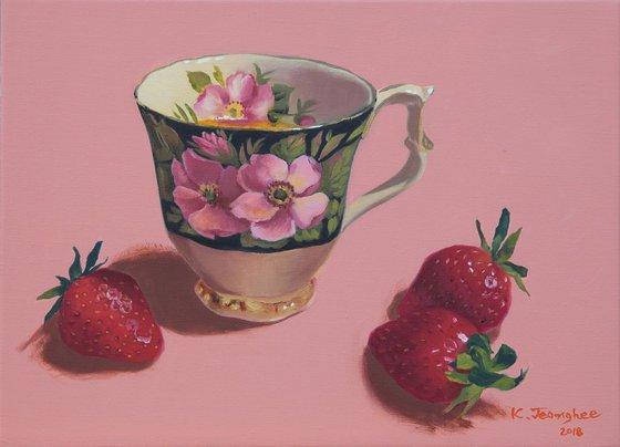 Teacup & Strawberry 3