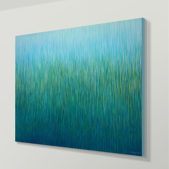 Silent Grass- 101 x 71cm