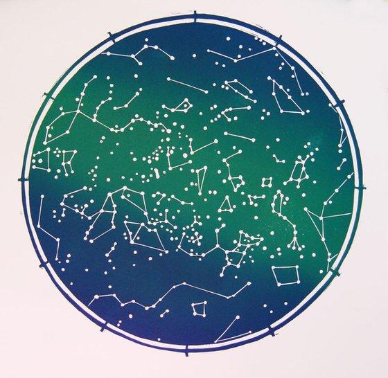 Mapa Estelar Sur