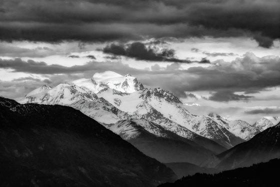 Grand Combin, in Valais