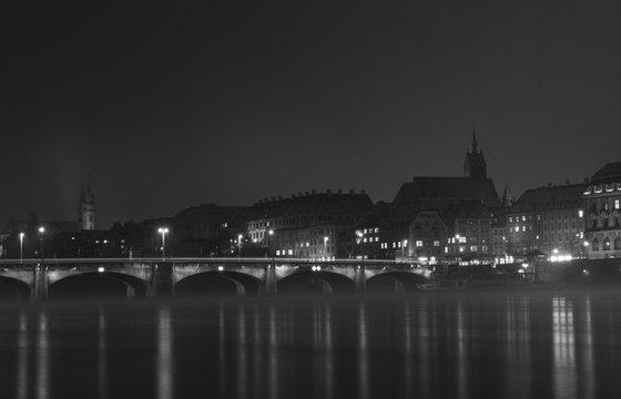 The Rhein, Basel, Switzerland, Study I [Framed; also available unframed]