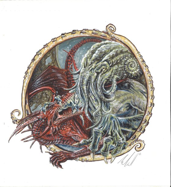 Cthulhu and the Dragon