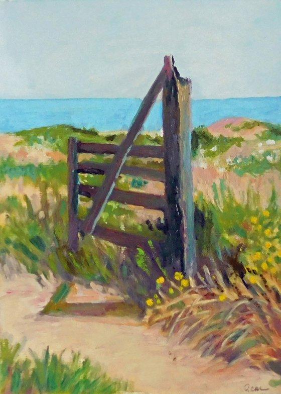 Field Gate by Sea
