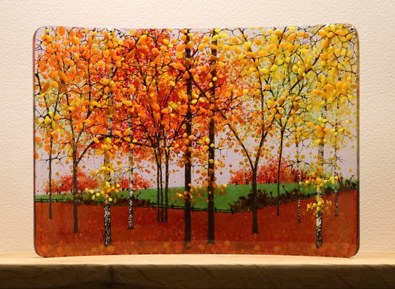 Glass Autumn Small Curve (Made to Order)