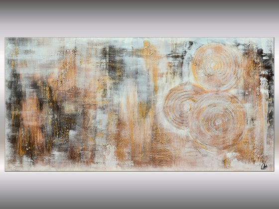 Fragmente  - Abstract Art - Acrylic Painting - Canvas Art -  Abstract Painting - Industrial Art