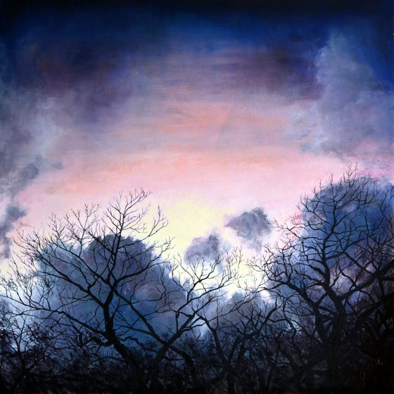 Evening Winter Sky