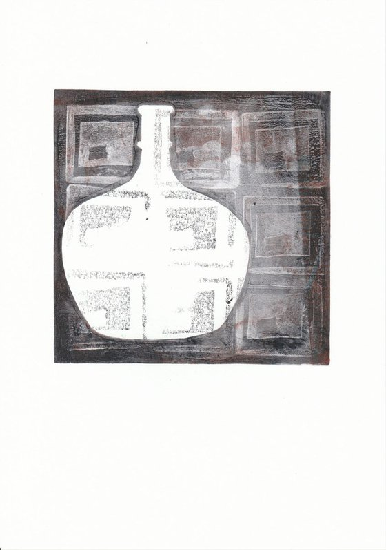 Monoprint - Still life no. 8