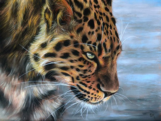 JAGUARS STARE (Original Painting)