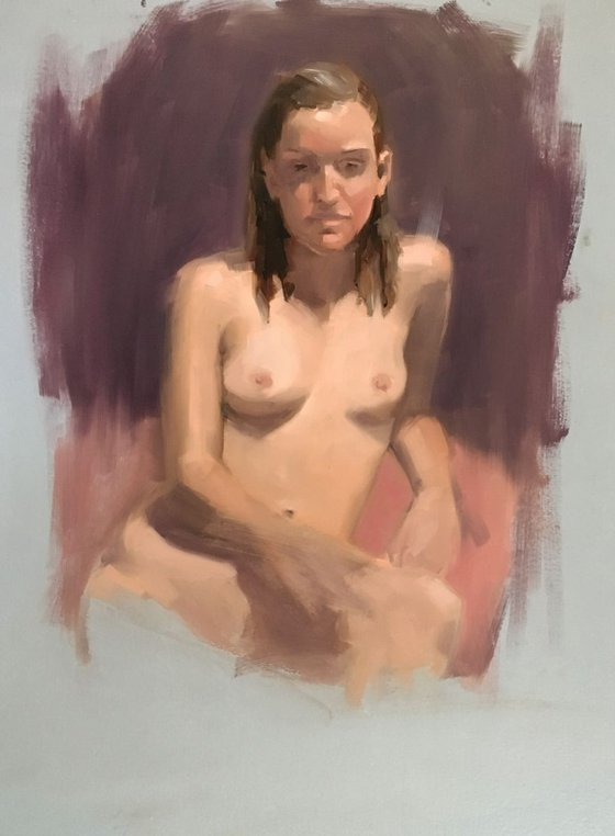 Nude in Bright Light