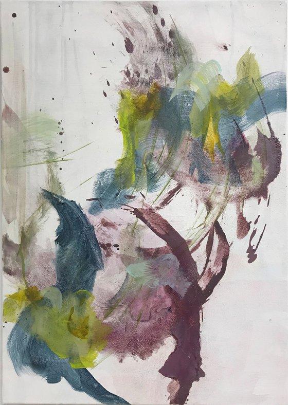 Floral Abstract I - Verveine