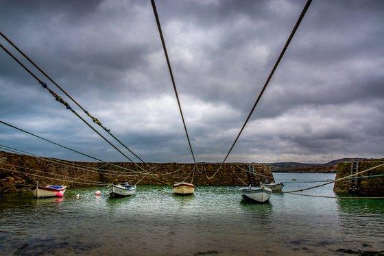 Port Racine in winter