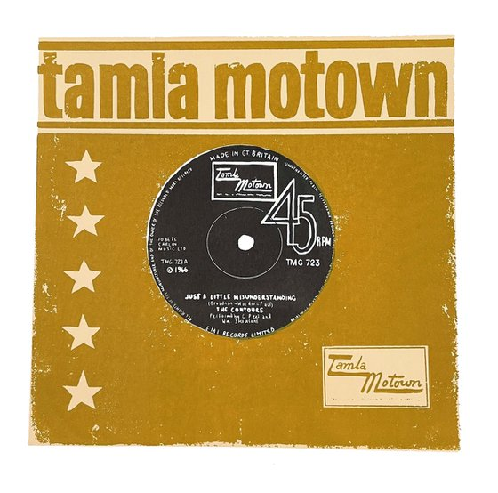 MOTOWN - limited-edition, screen print (Olive green/brown)