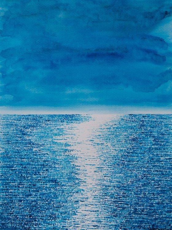 Shimmering Blue -2