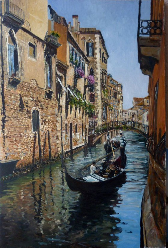 Venice - Canals and Gondolas