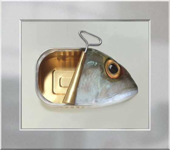 Fish Can on Acrylic