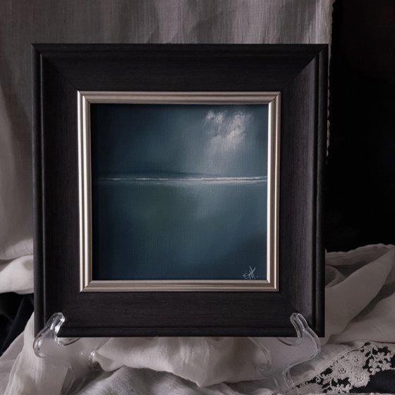 Moonstone Series - Sandside, abstract seascape