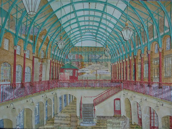 The Classical music court of Covent Garden
