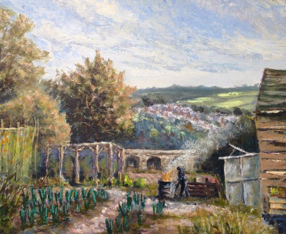 Allotment to the viaduct
