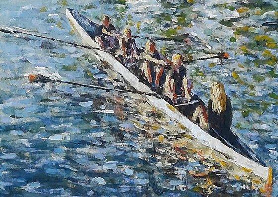 evening rowers