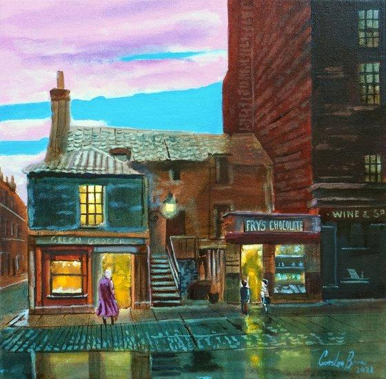 Old Edinburgh shops
