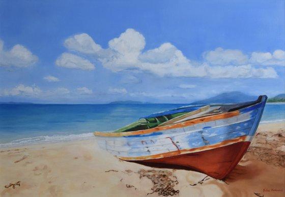 Beach of piece