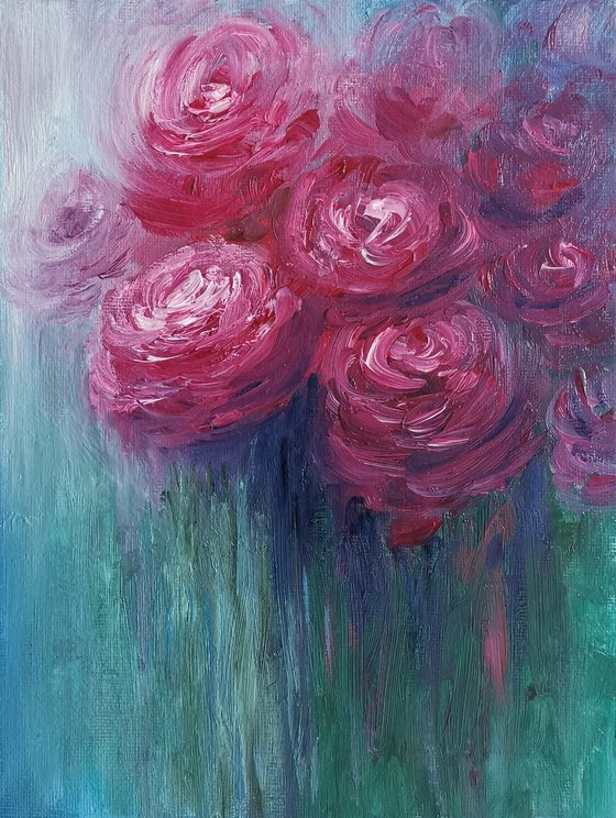 August roses
