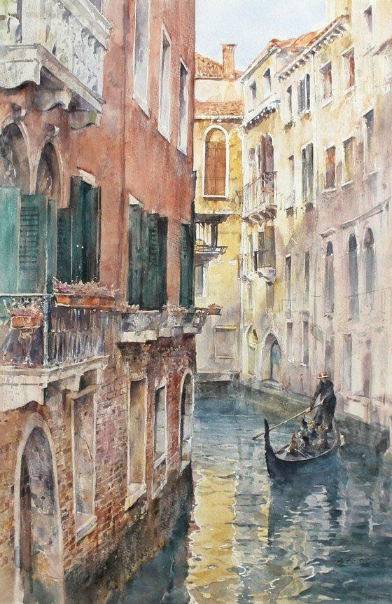 Venice Calm (29x42 cm)