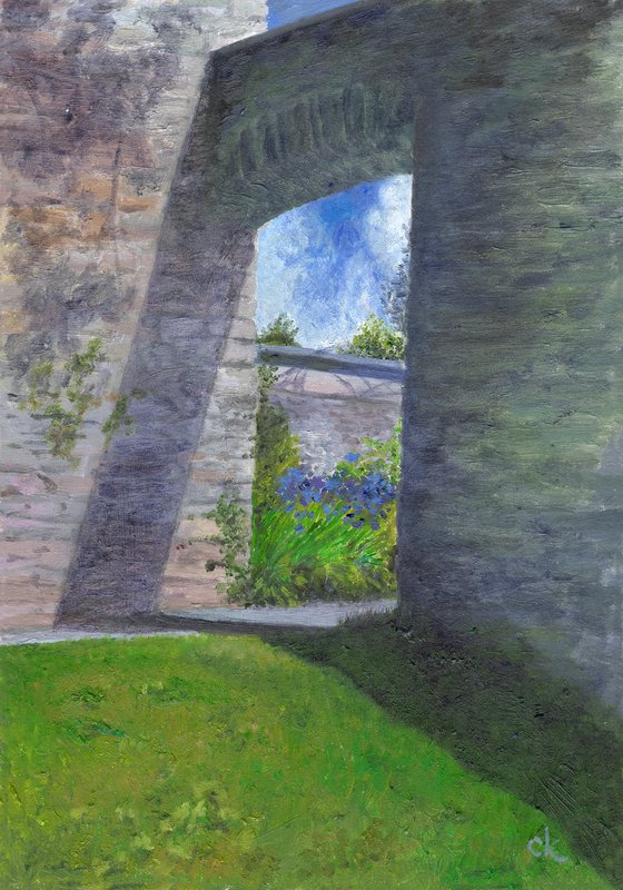 Aberglasney Arches 5